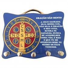 Imagem - Porta Chave - Medalha de São Bento - 02 cód: PR26-BR-10494