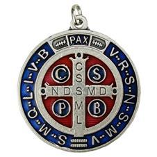 Medalhão Folheado Alto Relevo São Bento