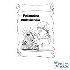 Imagem - Adorno de Eucaristia Menina cód: 19834848