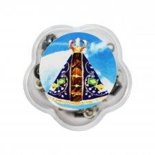 Imagem - Mini Terço de Aparecida com Embalagem cód: BNZ-RL-40005