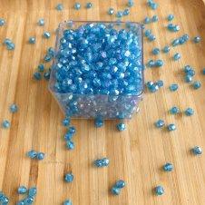 Imagem - Miçanga Bolinha Azul - 250g cód: MBA250