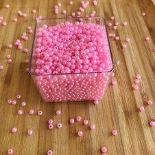 Imagem - Miçanga Bolinha Rosa Pequena - 250g cód: MBRP250