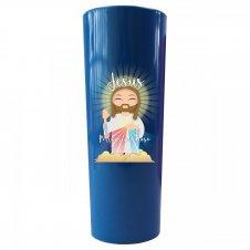 Imagem - Copo Long Drink Jesus Misericordioso Infantil cód: CLDJMIA