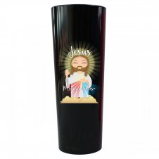 Imagem - Copo Long Drink Jesus Misericordioso Infantil cód: CLDJMIP