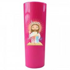 Imagem - Copo Long Drink Jesus Misericordioso Infantil cód: CLDJMIR