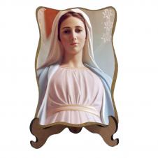 Imagem - Porta-Retrato Nossa Senhora Rainha da Paz - Modelo 2 cód: 17975614