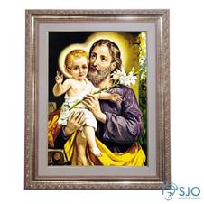 Imagem - Quadro - São José - 52 cm x 42 cm - 10837604