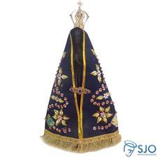 Imagem de Nossa Senhora Aparecida com Manto Bordado - 40 cm