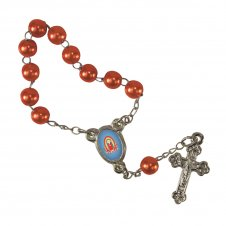 Imagem - Mini Terço Nossa Senhora de Guadalupe Infantil cód: MTNSGI2L