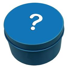 Imagem - 10 Lata Redonda Personalizada - 7,5 X 4  | Cor: Azul Tiffany - 50.02.111PAT