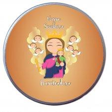Imagem - Latinha de Nossa Senhora Auxiliadora Infantil cód: LNSAI2