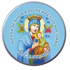 Imagem - Latinha de Nossa Senhora do Perpétuo Socorro cód: 13591432