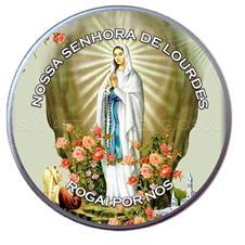 Imagem - Latinha de Nossa Senhora de Lourdes cód: 19427696