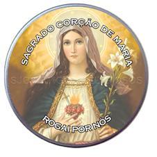 Latinha do Sagrado Coração de Maria - Mod. 2
