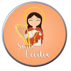 Imagem - Latinha de Santa Cecília Infantil cód: LSCI2