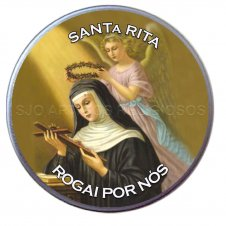 Imagem - Latinha de Santa Rita cód: 14471916