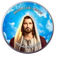 Imagem - Latinha do Rosto de Jesus cód: 15402765