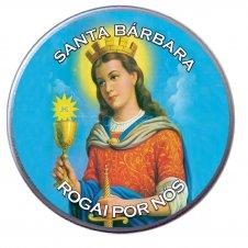 Imagem - Latinha da Santa Bárbara cód: 10720073