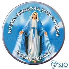 Imagem - Latinha de Nossa Senhora das Graças - Mod. 1 cód: 16760685