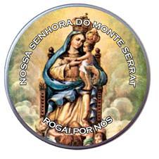 Imagem - Latinha de Nossa Senhora do Monte Serrat cód: 16136676