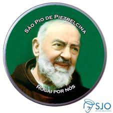 Imagem - Latinha São Pio de Pietrelcina cód: 18806731