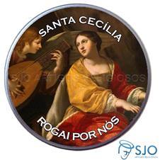 Imagem - Latinha Personalizada de Santa Cecília cód: 17900946