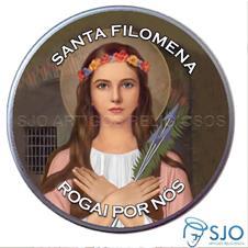 Imagem - Latinha de Santa Filomena cód: 14595871