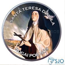 Imagem - Latinha de Santa Teresa D'Ávila cód: 15846128