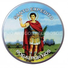 Imagem - Latinha de Santo Expedito cód: 16868369