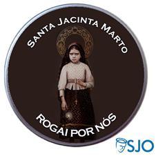 Latinha Santa Jacinta Marto