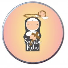 Imagem - Latinha de Santa Rita Infantil cód: LSRI
