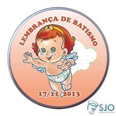 Imagem - Latinhas de Batismo - Mod. 05 cód: 13458882