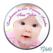 Imagem - Latinha de Aniversário do Meu Primeiro Aninho - Menina cód: 11973888
