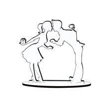 Imagem - Lembrancinha de Casamento Noivos em MDF 05 - 13181961