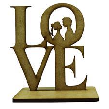 Imagem - Lembrancinha de Casamento Noivos em MDF - Mod. 19 cód: 13458919-8