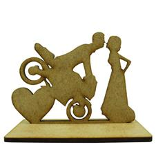 Imagem - Lembrancinha de Casamento Noivos em MDF - Mod. 21 cód: 96766412-9
