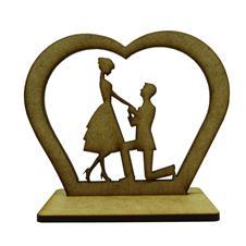 Imagem - Lembrancinha de Casamento Noivos em MDF - Mod. 9 - 25416879-3