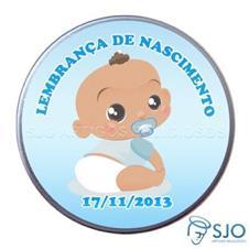 Latinha de nascimento - Mod. 4 - Masc.