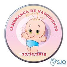 Latinha de nascimento - Mod. 4 - Fem.