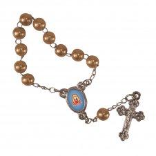 Imagem - Mini Terço Nossa Senhora de Guadalupe Infantil cód: MTNSGI2C