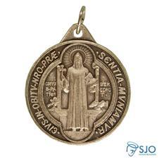 Imagem - Ref: MD32SB | Medalha Redonda de São Bento cód: 14964274