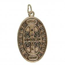 Imagem - Medalha Alto Relevo São Bento cód: 18419509
