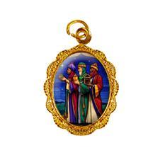 Medalha de Alumínio - Três Reis Magos - Mod. 02