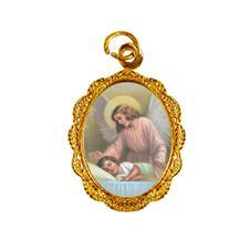 Imagem - Medalha de alumínio - Anjo da Guarda - Mod. 02 - 16341204-19