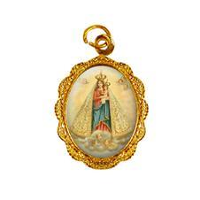 Imagem - Medalha de Alumínio - Nossa Senhora de Nazaré cód: 13879537-19