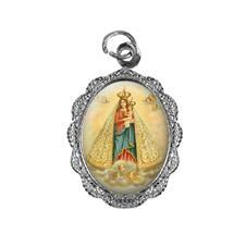 Imagem - Medalha de Alumínio - Nossa Senhora de Nazaré cód: 13879537-20