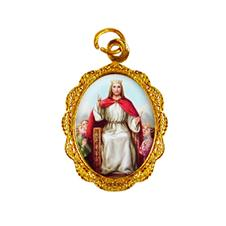 Medalha de alumínio - Cristo Rei