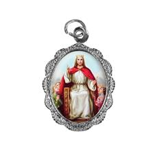 Medalha de alumínio - Cristo Rei Níquel