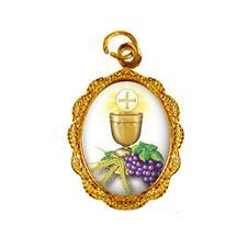 Imagem - Medalha de Alumínio - Eucaristia cód: 19575933-19