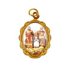 Imagem - Medalha de alumínio - Divino Pai Eterno - Mod. 02 cód: 19115280-19